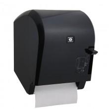Levercut Rulo Kağıt Havlu Dispenseri Siyah - Perforesiz Kağıt İçin Uyumlu