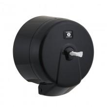 Mini İçten Çekmeli WC Kağıdı Dispenseri - Siyah