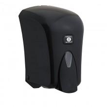 Hazneli Sıvı Sabun Dispenseri 1000 mL - Siyah
