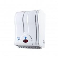 Sensörlü Rulo Kağıt Havlu Dispenseri Beyaz - Perforesiz Kağıt İçin Uyumlu