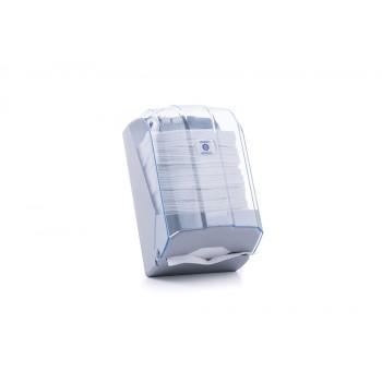C Katlı WC Kağıdı Dispenseri - Şeffaf