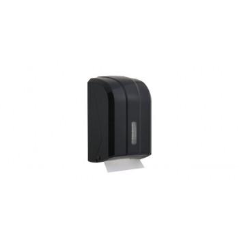 C Katlı WC Kağıdı Dispenseri - Siyah