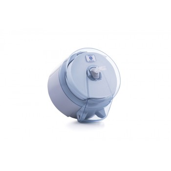 Mini İçten Çekmeli WC Kağıdı Dispenseri - Şeffaf