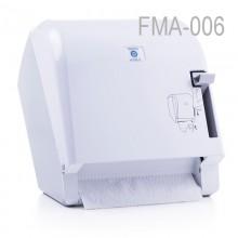Levercut Rulo Kağıt Havlu Dispenseri Beyaz - Perforesiz Kağıt İçin Uyumlu