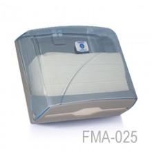 Z Katlı Kağıt Havlu Dispenseri - Şeffaf - Kapasite 200 Kağıt