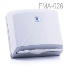 Z Katlı Kağıt Havlu Dispenseri - Beyaz - Kapasite 200 Kağıt