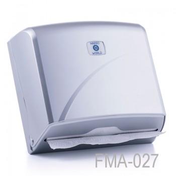 Z Katlı Kağıt Havlu Dispenseri - Krom - Kapasite 200 Kağıt