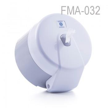 Mini İçten Çekmeli WC Kağıdı Dispenseri - Beyaz
