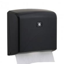 Z Katlı Kağıt Havlu Dispenseri - Siyah - Kapasite 200 Kağıt
